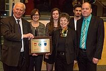 Auszeichnungsfeier mit Jacqes Santer und Christiane Pape